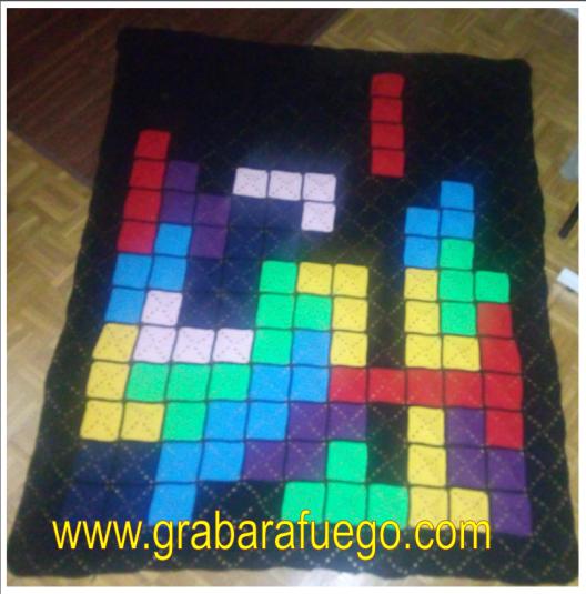 manta de tetris